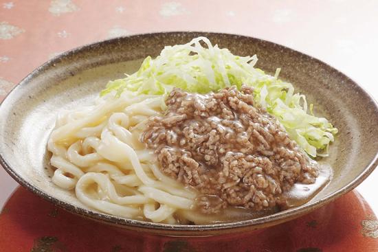 和風ジャージャー麺